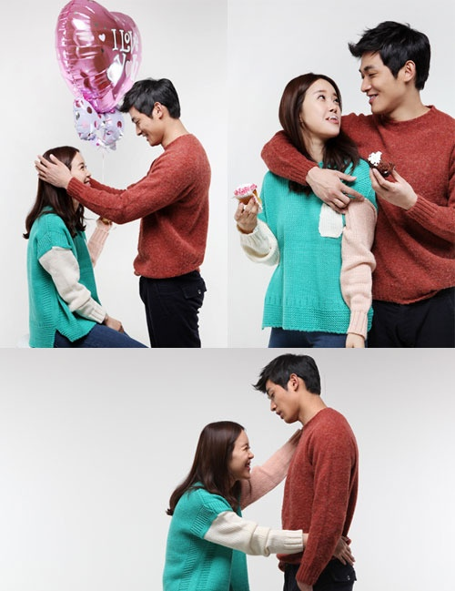 Baek Ji Young and Jung Suk Won's Couple Photoshoot
