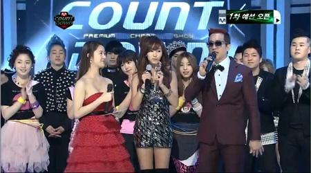 Mnet M! Countdown 02.17.11