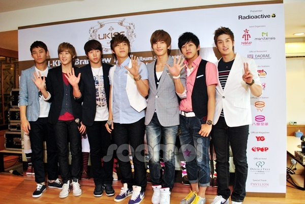 U-KISS Holds Press Conference in Malaysia