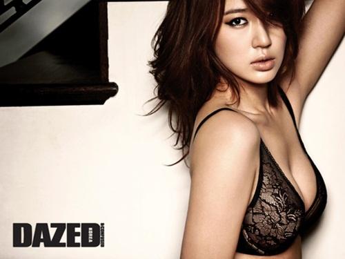 Yoon Eun Hye Unveils Sexy Lingerie Photos