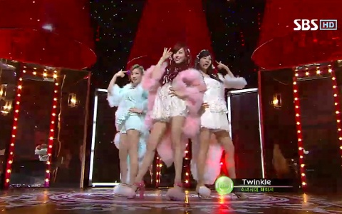 "TaeTiSeo Performs ""Twinkle"" on Inkigayo"