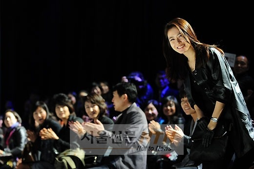Son Ye Jin at 2011 S/S Seoul Fashion Week