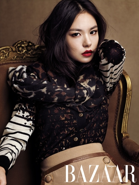 Min Hyo Rin Looks Stunning in Harper's Bazaar Photo Shoot
