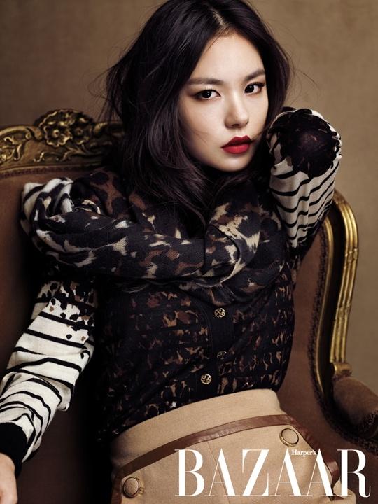 Min Hyo Rin Looks Stunning in Harper's Bazaar Photo Shoot