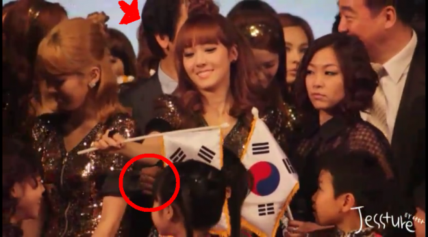 [UPDATED] SNSD's Jessica Inappropriately Touched?