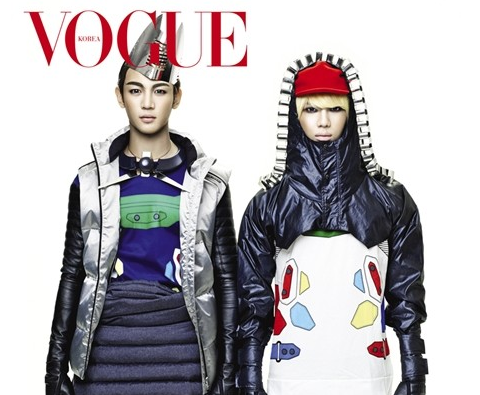 SHINee's Minho and Taemin Are Cyborgs for Vogue