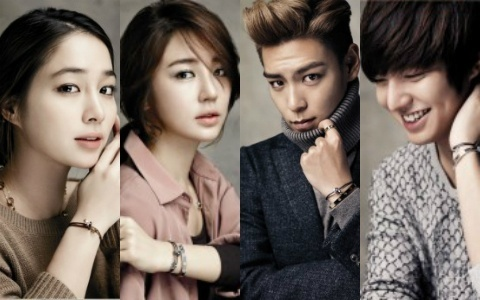 Celebrities Take Part in the Cartier LOVE Jewelry Charity Campaign