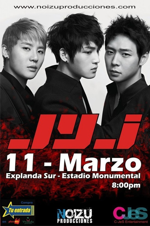 "Peru's ""Frecuencia Latina"" Covers JYJ's Growing Popularity"