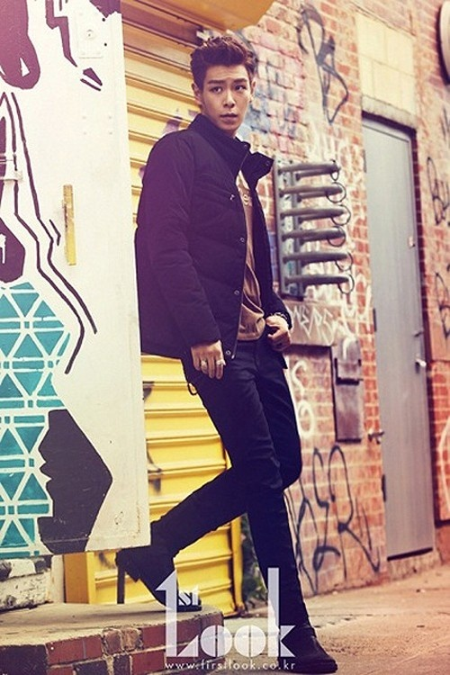T.O.P. Chosen as Cover of the Year for First Look Magazine