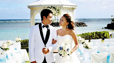 New Eun Ji Won's Wedding Photos Released!