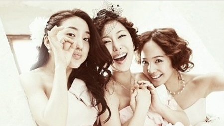 S.E.S. Reunites For Shoo's Wedding Photoshoot