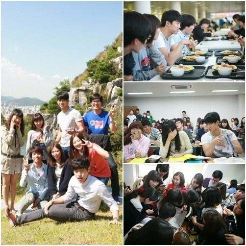 2PM's Taecyeon's Popularity at a College Campus