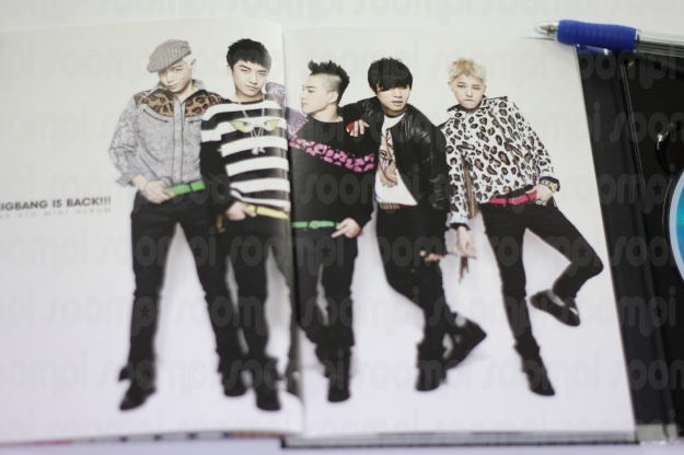 [ONLY SOOMPI] PHOTOS OF BIG BANG'S NEW ALBUM 2/3