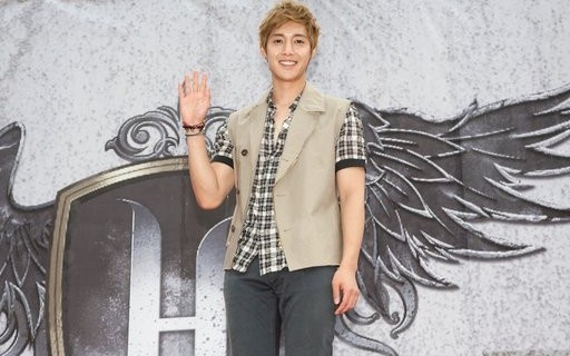 Kim Hyun Joong Holds Press Conference in Taiwan