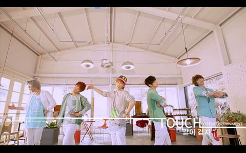 "TOUCH Releases Comeback MV ""Let's Walk Together"""