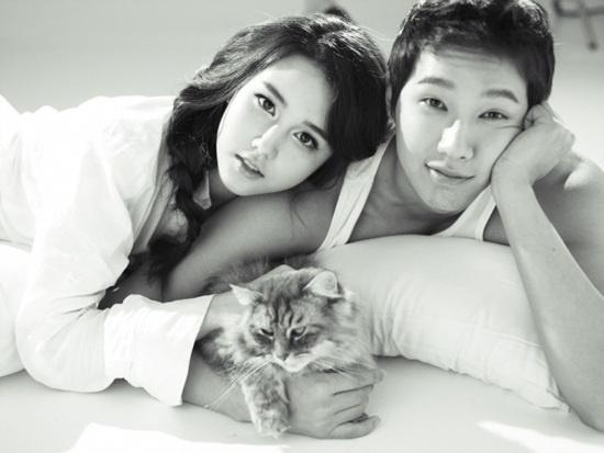 New Girl Group Chocolat's Tia has a Couple Photo Shoot with Ji Hyun Woo