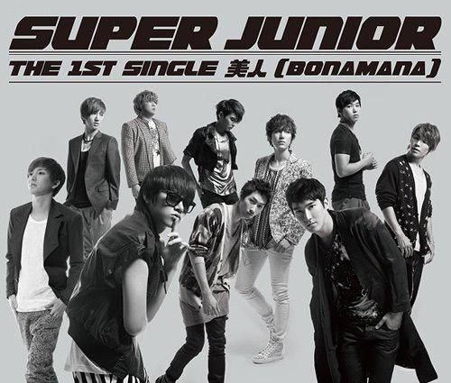 "Super Junior Reaches #2 on Weekly Oricon With ""Bonamana"""