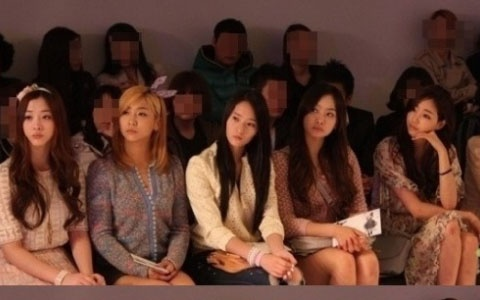 Kim Sarang's Beauty Makes f(x) Look Ordinary?
