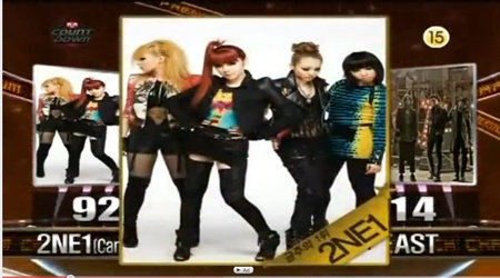 Mnet M!Countdown 09.30.10 Performances
