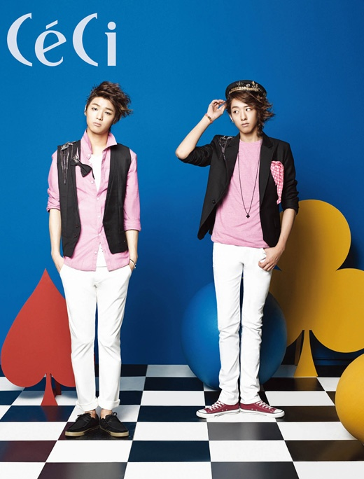 CN Blue's Chic Pastel Tone Photo Shoot