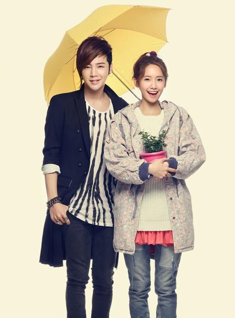 """Love Rain"" Releases Poster Stills of Jang Geun Suk and Girls' Generation YoonA"