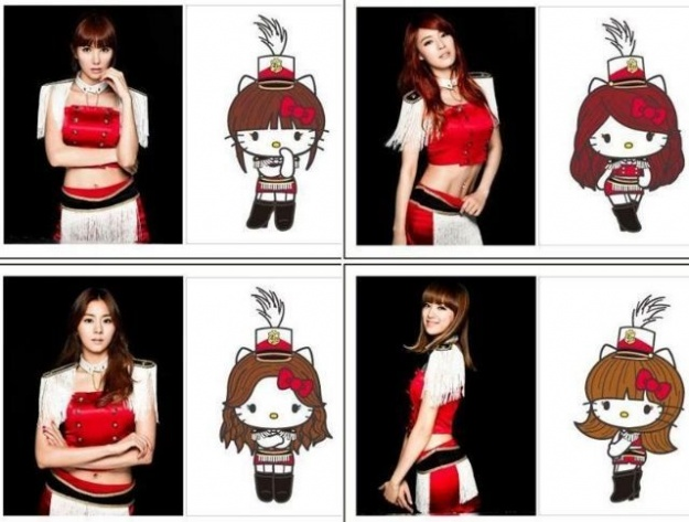 After School's Hello Kitty Items Revealed