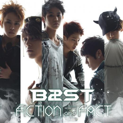 """B2ST's First Album """"Fiction and Fact"""" Dominates Music Charts"""