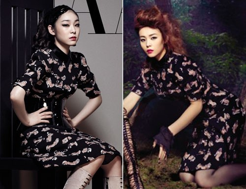 Who Wore It Better: Yuna Kim vs. Sunye