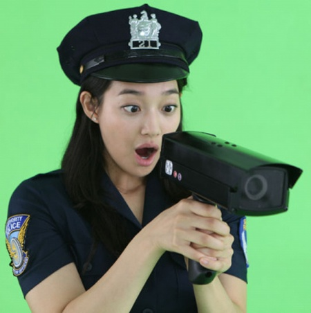 Shin Min Ah Joins the Police Force?