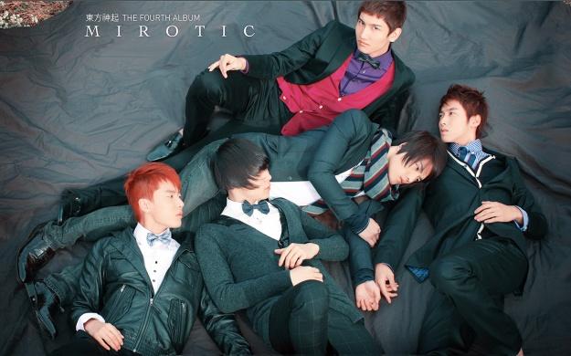 ALBUM Mirotic (includes Official Site images) [TVXQ]