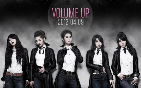 """4Minute Releases First Video Teaser for """"Volume Up"""""""