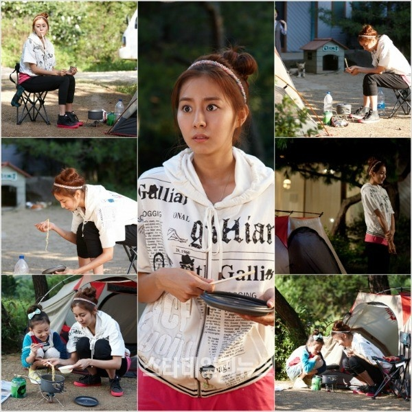 "Uee to Transform into a Homeless Person for Next Episode of ""Ojakgyo Brothers"""