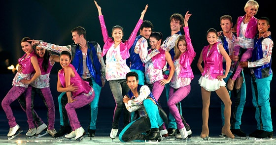 Watch Yu-Na Kim, Michelle Kwan, and Younha Perform at 2010 All That Skate LA