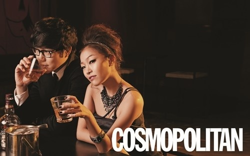 Sung Si Kyung and Park Jung Hyun, Sexy Couple Photoshoot