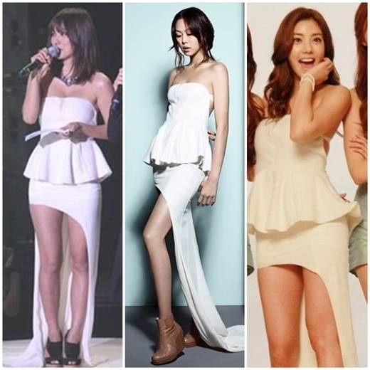 Who Wore It Best: Lee Hyori vs. Son Dam Bi vs. Kim Min Hee vs. Yoo In Na