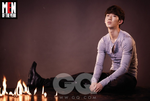 2AM's Jo Kwon Featured In GQ's 'Men Of the Year' Issue!