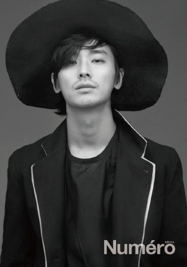 Joo Ji Hoon for Numéro Korea