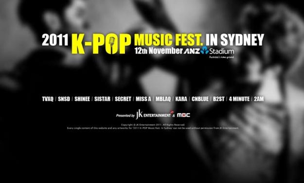 K-Pop Concert Coming to Australia!