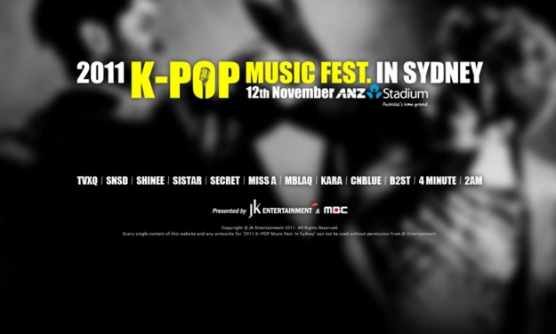 K-Pop Concert Coming to Australia!