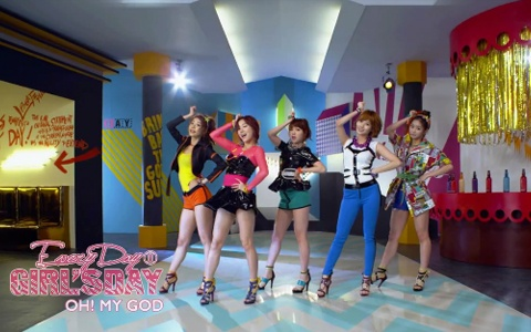 """Girl's Day Releases Teaser for """"Oh! My God"""""""