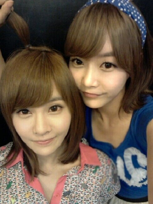 T-ara's Boram and Soyeon as Twins