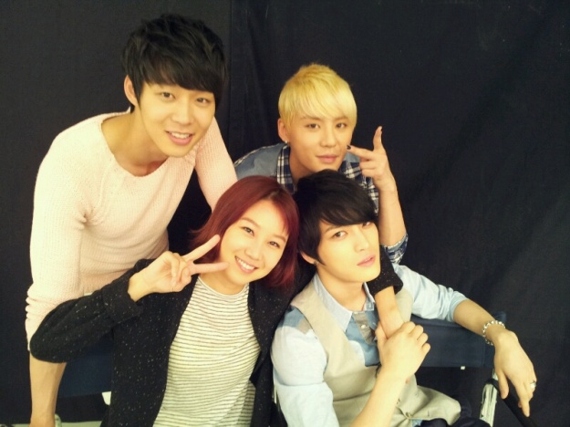 Gong Hyo Jin Shows that She is Close with JYJ