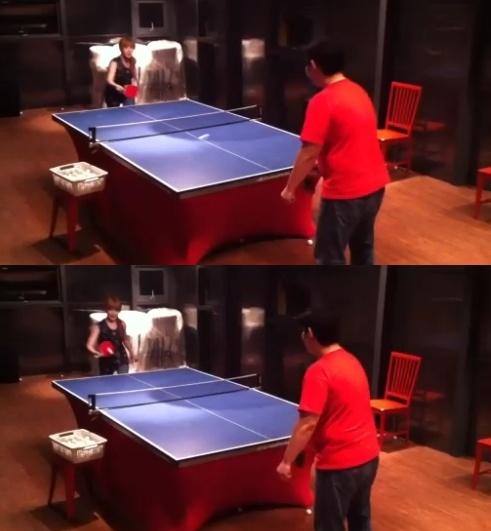 Sandara Park Reveals Clip of 'Ping Pong Queen' Park Bom!