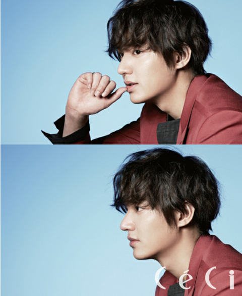"""""""City Hunter's"""" Lee Min Ho Graces the Cover of """"Ceci"""""""