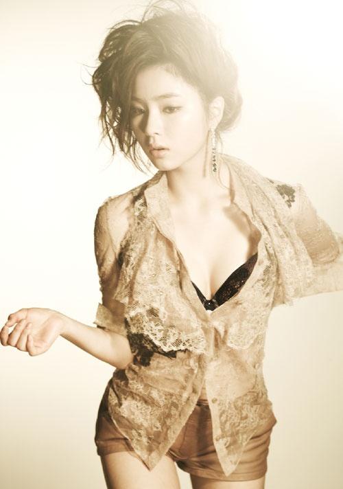 Shin Sae Kyung's Sizzling Hot Lingerie Photoshoot