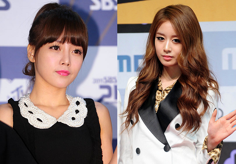 Who Looks Better without Make-up: T-ara's Ji Yeon or So Yeon?