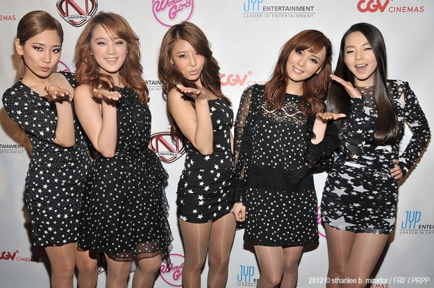 Wonder Girls Talks about New Album and U.S. Tour on Red Carpet