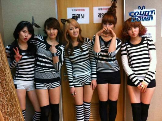 Weekly K-Pop Music Chart 2011 – May Week 1