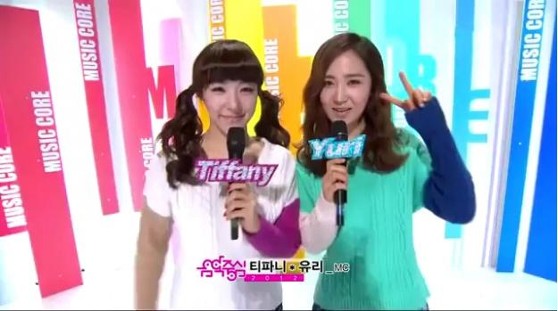 MBC Music Core 01.14.2012