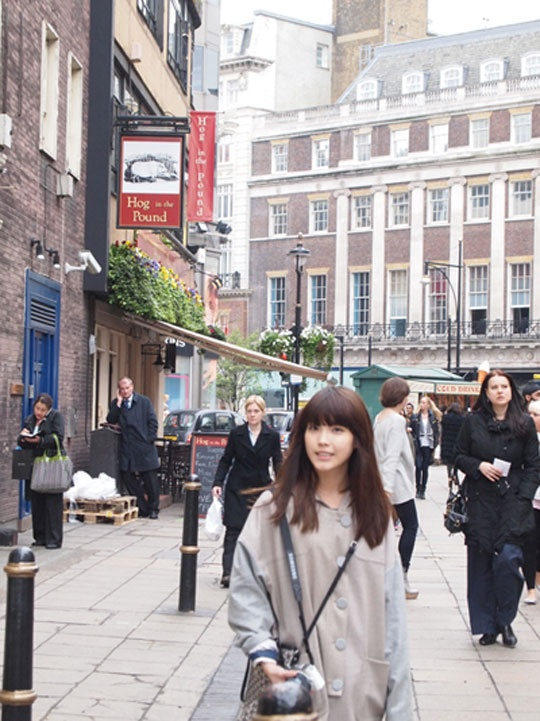 Photo of IU in London Released!